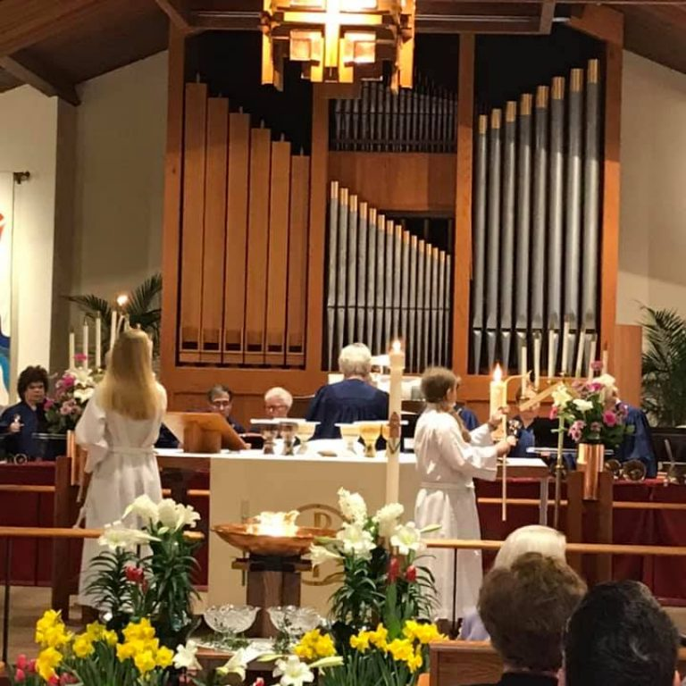 easter acooytes and bells